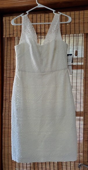 Maggy London Dresses & Skirts - White Lace dress